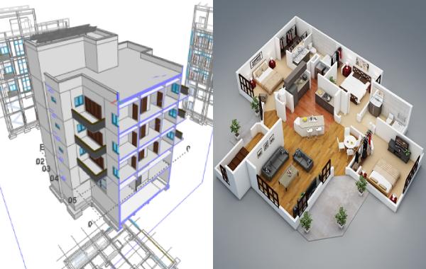 Numérisation des bâtiments (Scan 3D et BIM)