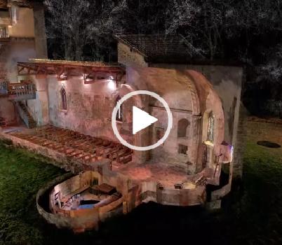 Visite virtuelle en 3D en coupe d'une Eglise du XIème siècle