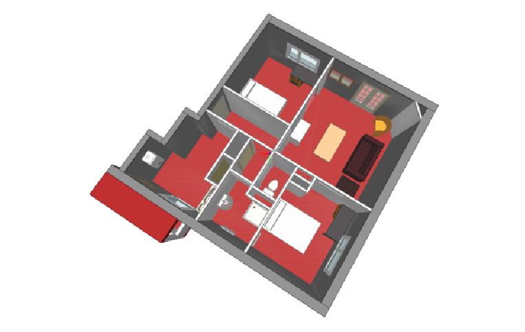 modélisation 3D d'un appartement (64)