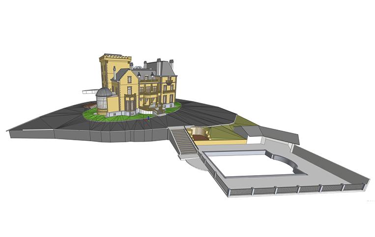 Numérisation et modélisation 3D d'un Château